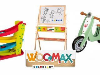Los juguetes de Woomax en Bebés y Más